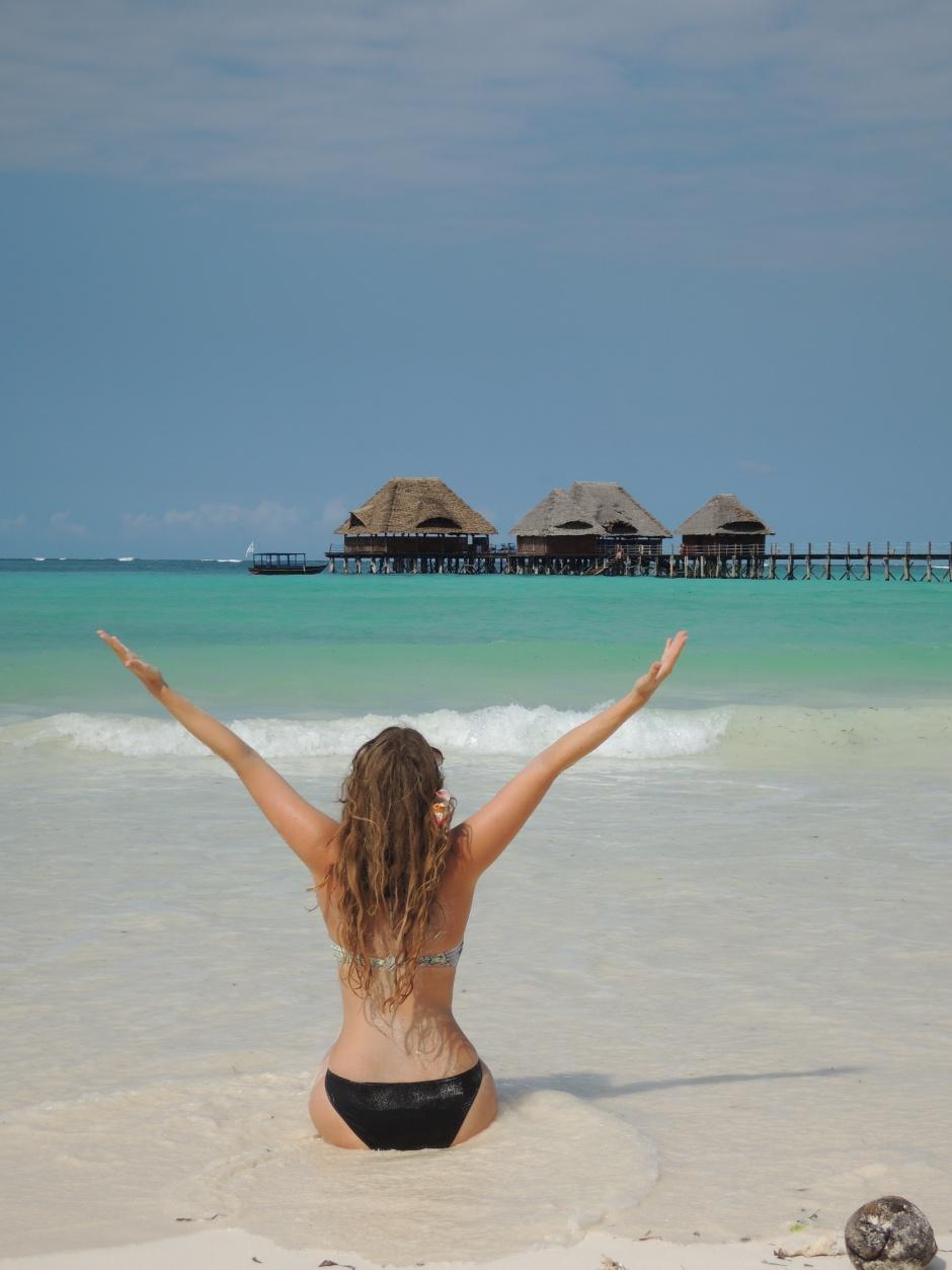 Zanzibar Tansania Blue Lagoon