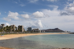 Honolulu Beach Oahu
