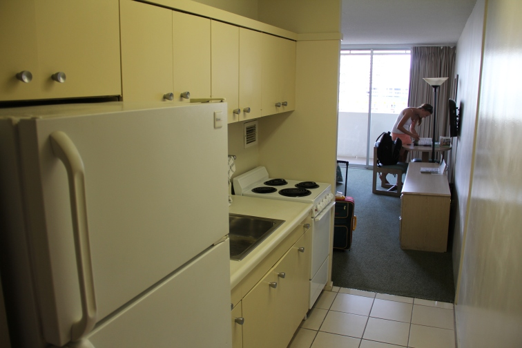Kitchen included for 100 $ a night