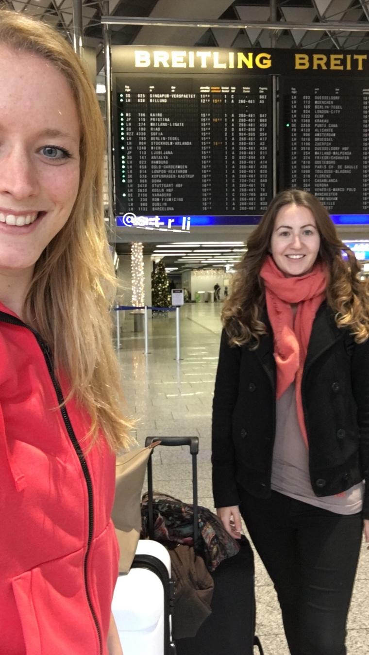 Frankfurt airport departure