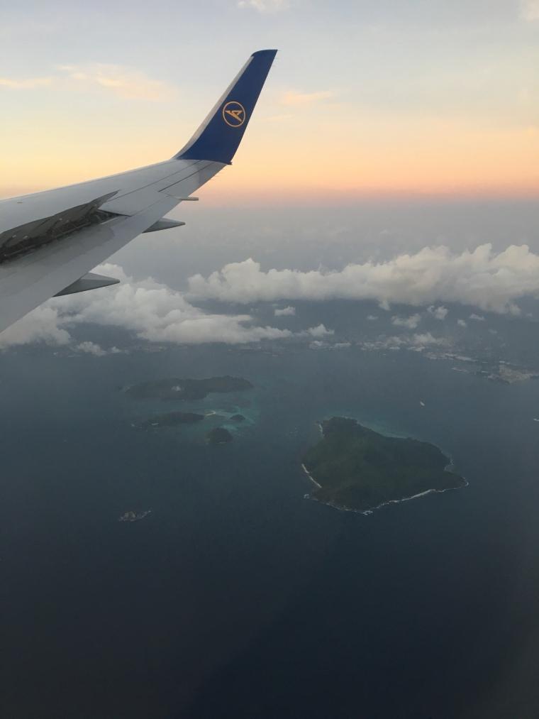 Seychelles airport SEZ Mahé arrival